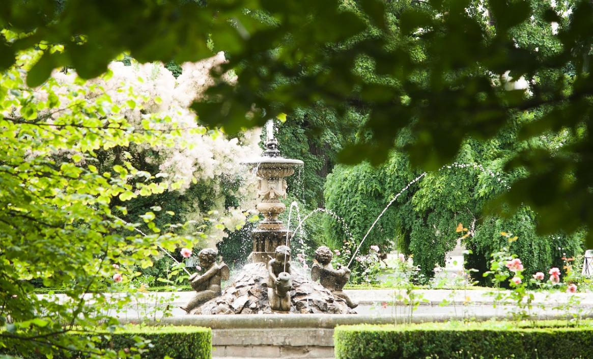 fontána v kroměříži
