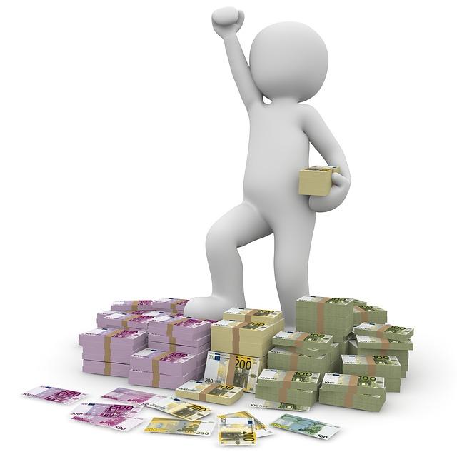 úspěšné získání peněz