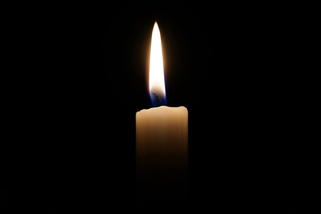 svíčka svaté Lucie