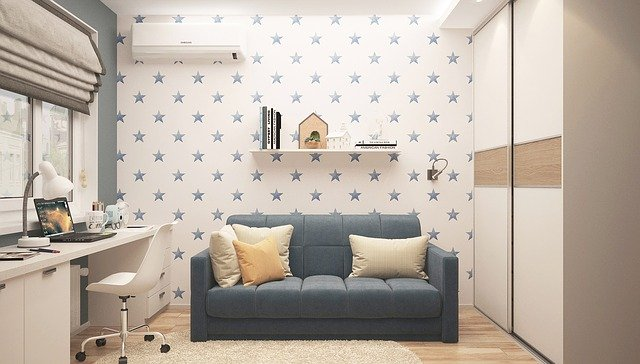 minimalisticky řešený interiér