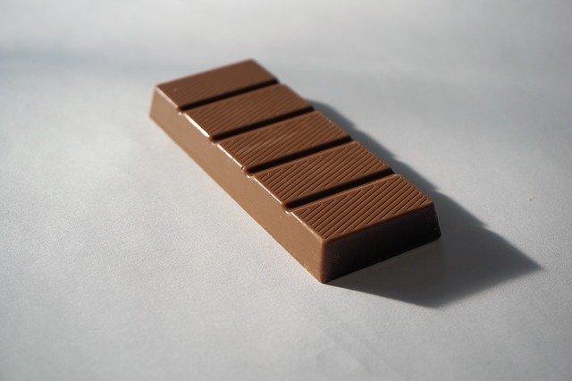proužek čokolády