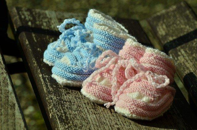 pletené botičky