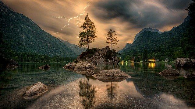 žijte třeba u jezera
