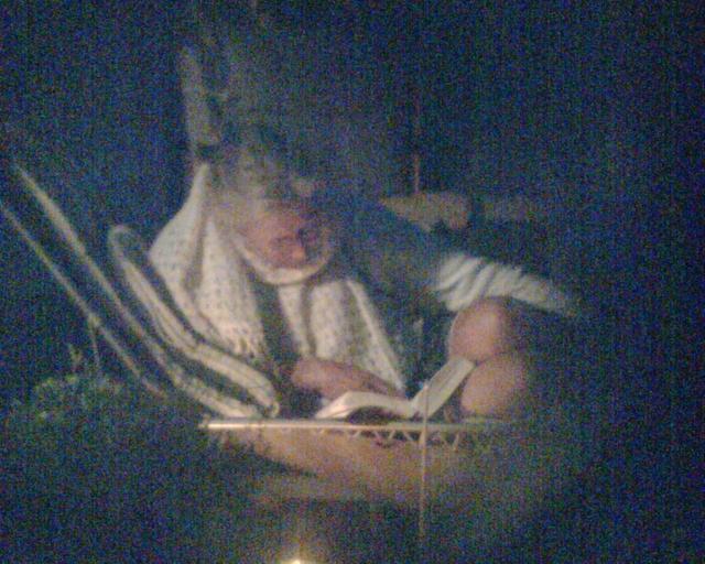 Čtení v noci